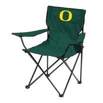 Logo Brands NCAA Oregon Ducks Quad Chair, Adult, Green