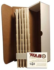 RAW Organic 1 1/4 Size Pure Hemp Pre-Rolled Cones With