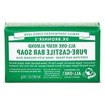 Dr. Bronner's Organic Castile Bar Soap - Almond - 5 oz