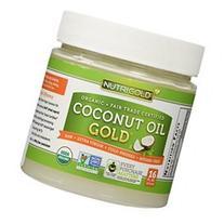 Organic Coconut Oil, Extra Virgin, Cold Pressed, Unrefined,
