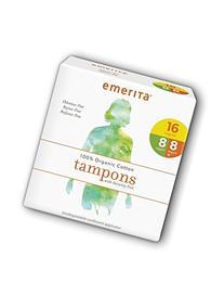 Organic Cotton Multipack Applicator Tampons Emerita 32 ct