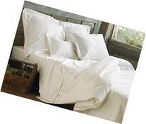 Coyuchi Organic Sateen Duvet Cover, Twin, Alpine White
