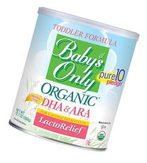 Baby's Only Organic LactoRelief with DHA & ARA Toddler