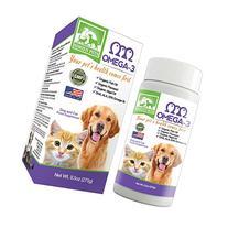 Organic Omega 3 Dogs & Cats - Fish, Algal & Flaxseed Oils -
