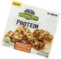 Cascadian Farm, Protein Organic Chewy Granola Bars, Peanut