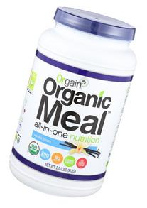 Orgain Organic Plant Based Meal Powder, Vanilla Bean, 2.01