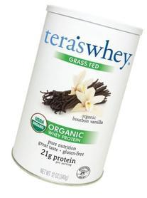 Tera's Whey - Organic Grass Fed Whey Protein Bourbon Vanilla