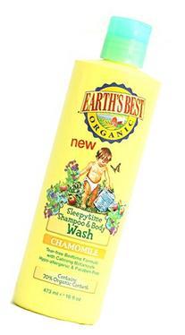 Earth's Best Organic Sleepytime Shampoo and Body Wash -