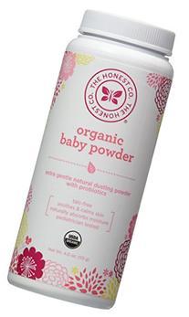 The Honest Company Organic Talc-Free Baby Powder - 4 oz