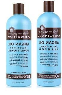 Renpure Orginals Argan Oil Shampoo & Conditioner 16 oz