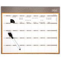 Mead Organizher Write 'N Wipe Monthly Undated Dry-Erase