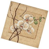 Oriental Orchids Counted Cross Stitch Kit-12X12