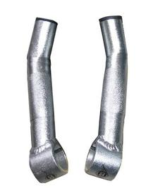 Origin8 Compe Lite Bar End, Short, Silver