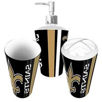 New Orleans Saints 3 Piece Bathroom Set