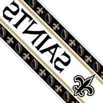 New Orleans Saints Team Wall Border