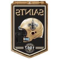 New Orleans Saints Year Established Wood Sign
