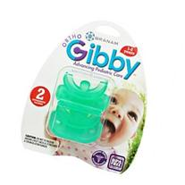 Branam Ortho-Gibby Pacifier, Ages 1-2 Years, Green, 2 count