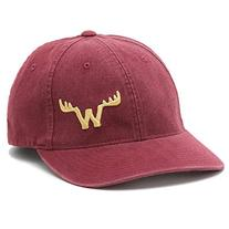 Moosejaw Otto Mann Flexfit Hat Maroon / Yellow S/M