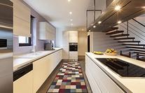 Ottomanson Otto Home Contemporary Checkered Design Modern