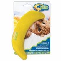 OurPets 100-Percent North American Catnip Filled Banana Cat