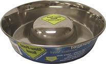 OurPets Premium DuraPet Slow Feed Dog Bowl Large