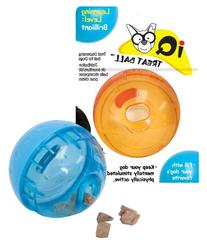OurPets Smarter Toys Interactive IQ Treat Ball Dog Toy, 4