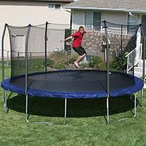 Skywalker Trampolines 17 ft. Oval Trampoline with Safety