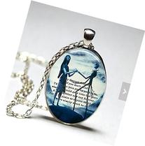 Oval The Nightmare Before Christmas glass dome pendant