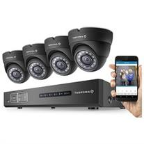 Amcrest 1080P HD Over Analog  4CH Video Security System -