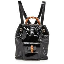 Pre-owned What Goes Around Comes Around Gucci Patent Bamboo