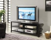 """Innovex TPT65G29 Oxford Fold N Snap 65"""" glass TV Stand for"""