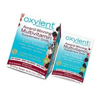 Oxylent, Sparkling Blackberry Pomegranate, 0.22 oz Packets,