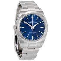 Rolex Oyster Perpetual 39 Blue Dial Stainless Steel Rolex