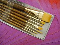 Princeton Brush-Princeton Series 9000 Brown Handled Brush,