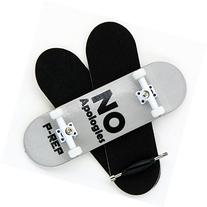 P-Rep No Apologies 30mm Graphic Complete Wooden Fingerboard