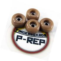 P-REP Fingerboard CNC Lathed Bearing Wheels - Coffee