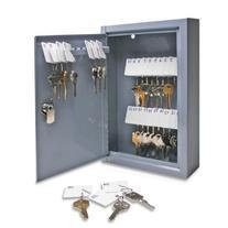 S.P. Richards Company Secure Key Cabinet, 8- x 2-5/8 x 12-1/