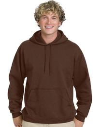 Hanes P170 ComfortBlend 50/50 Pullover Hood - Brown - S
