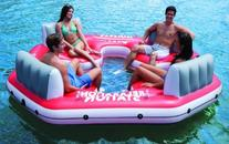 INTEX Pacific Paradise Relaxation Station Water Lounge 4-
