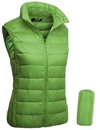 Thanth Womens Packable Slim Fitted Active Down Vest Jacket