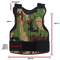 Zephyr Sports Padded Chest Protector - Reversible Woodland