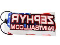 Zephyr Paintball Barrel Cover - Flag