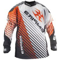 Empire Paintball Contact Zero FT Jersey - Orange - 3XL