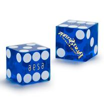 Pair  of Official 19mm Casino Dice Used at the Palace