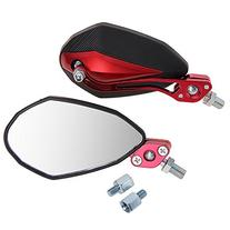 Zimo Pair Motorcycle Motorbike Rear View Mirrors 10mm 8mm