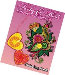 Paisley & Hearts Patterns and Designs Coloring Book (Sacred
