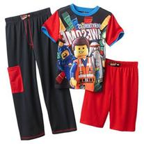 "The LEGO Movie ""Everything is Awesome"" 3 Piece Boys Pajama"