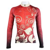 Paladin Women's Long Sleeve Special Cycling Jersey WJ0168