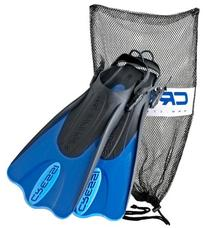 Cressi Palau Short Fins with Mesh Bag Snorkel Packages -