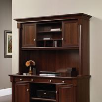 Sauder Palladia Hutch, Select Cherry Finish